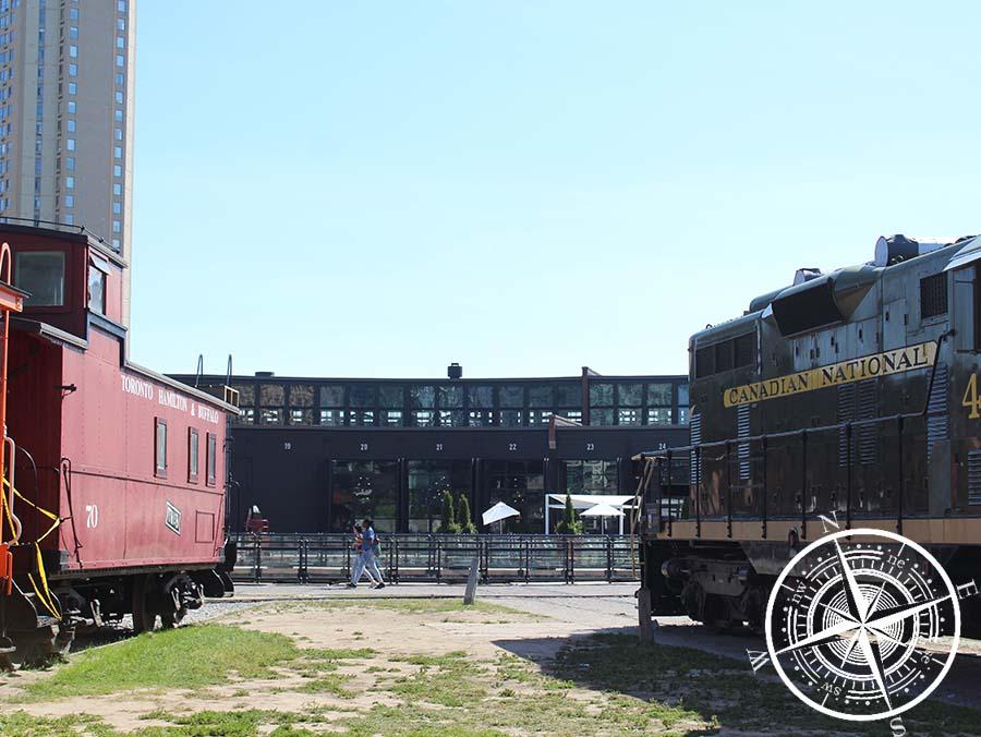 """Das """"Toronto Railway Museum"""" und seine Lokomotiven"""