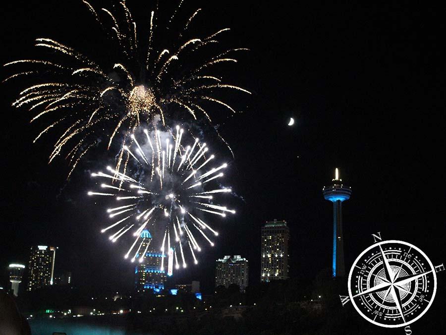 Das Feuerwerk war der Höhepunkt unseres Tages!