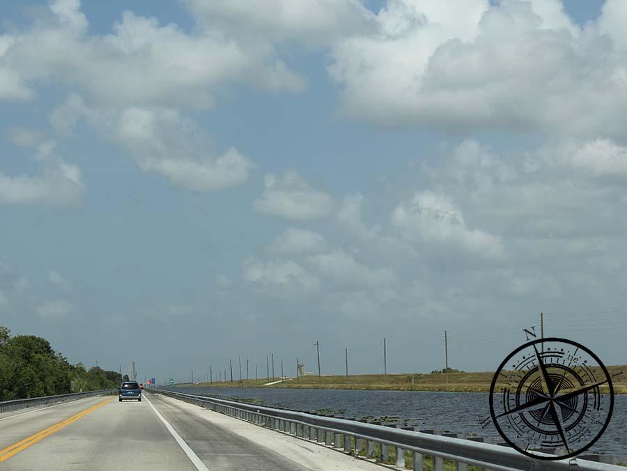 Auf den Weg entlang der Everglades...