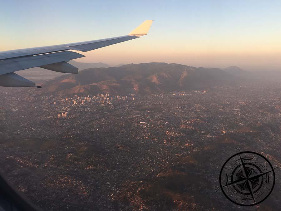 Ankunft am frühen Morgen in Rio de Janeiro