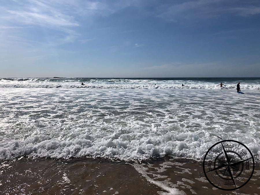 3-4 Stunden lang Surfkurs!