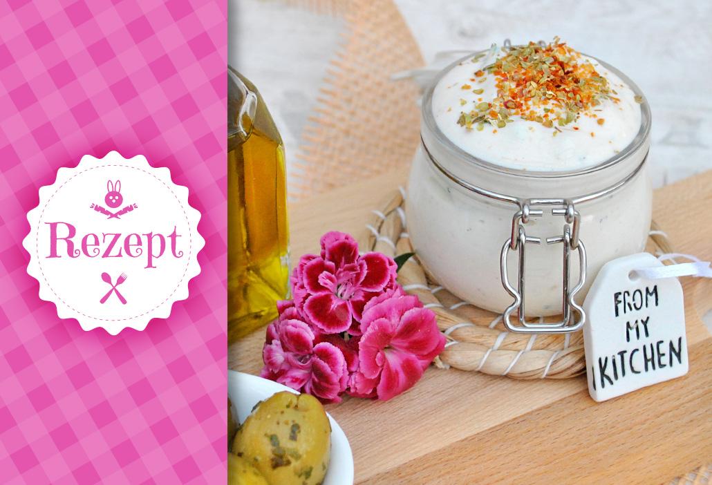 Rezept für Zaziki / Tzatziki vegan