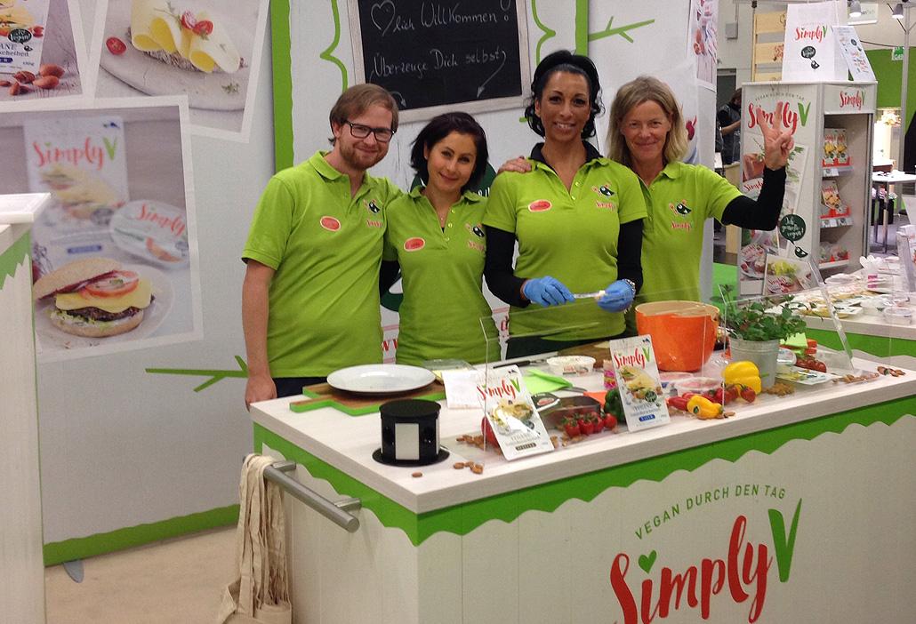 SimplyV auf der Veganfach