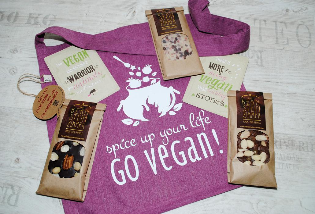 Vegane Schokolade zu gewinnen
