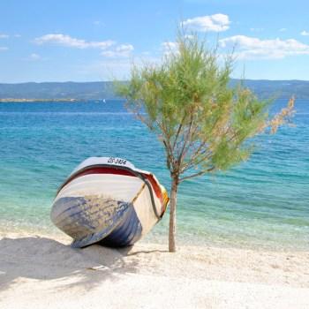 Typisches Urlaubsmotiv aus Kroatien