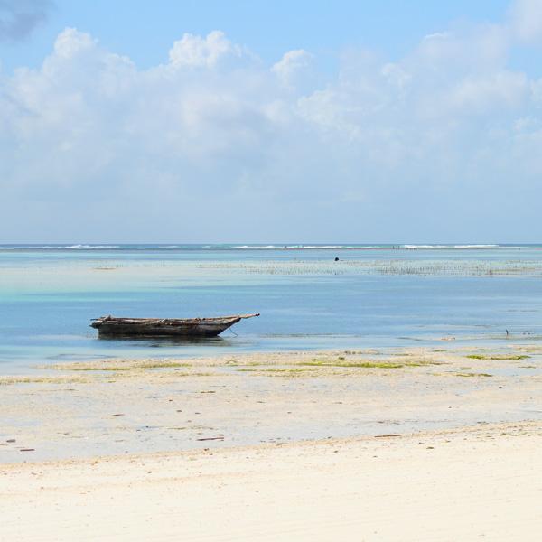 Fischerboot auf Zanzibar