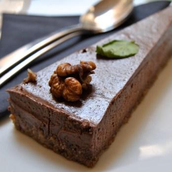 "Raw Chocolate-Cake aus dem ""nishta"" in Dubrovnik/Kroatien"