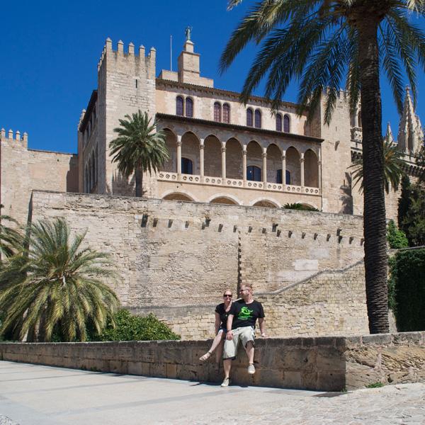 Königspalast de Almudaina in Palma de Mallorca