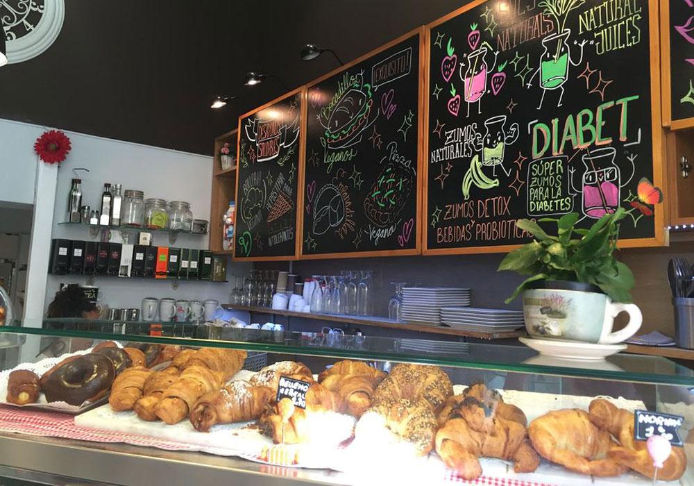 Café Santoni vegan Barcelona