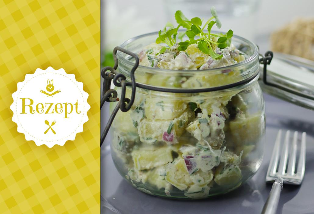 Rezept Kartoffelsalat vegan