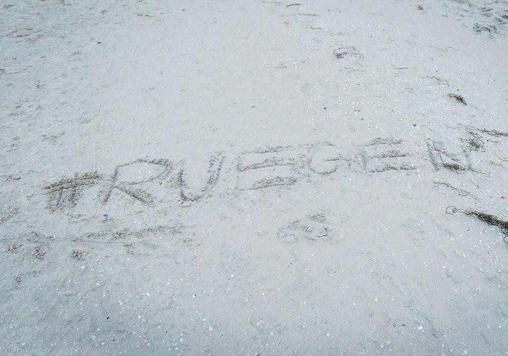 Sandstrand auf Rügen