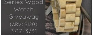 JORD Fieldcrest Series Wood Watch