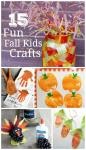 15 Fun Fall Kids Crafts To Keep Them Busy