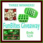 FunBites Green Squares Shaped Food Cutter Giveaway {3 Winners}