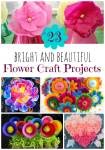 23 Bright and Beautiful DIY Flower Craft Projects For Spring