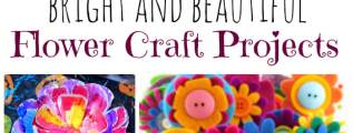 23 Bright and Beautiful DIY Flower Craft Projects