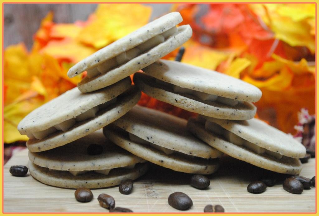 Pumpkin Coffee Cookies w/maple frosting