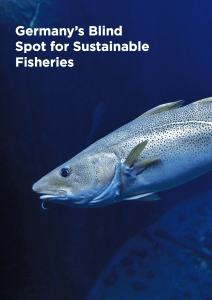 Germany's blind-spot for sustainable fisheries