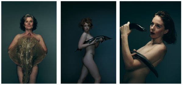 Celebrities Pose Naked With Fish For Fishlove Campaign To End Overfishing