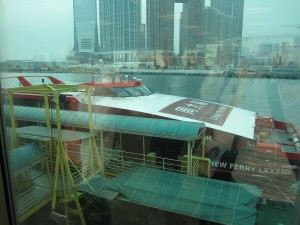 The ferry from Hong Kong to Macau