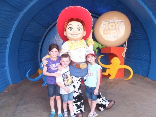 Kids were excited to meet Jesse!