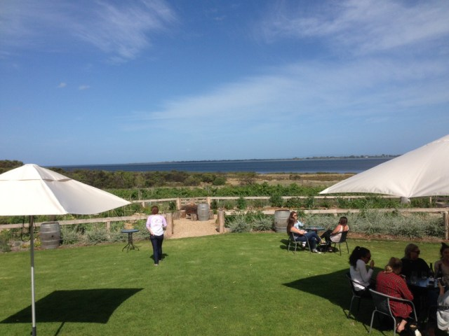 Kiltynane Winery, awesome little spot looking at Swan Bay. Little gem of a find, we will be returning.