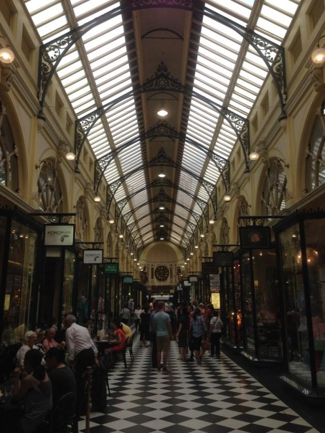 The Royal Arcade.