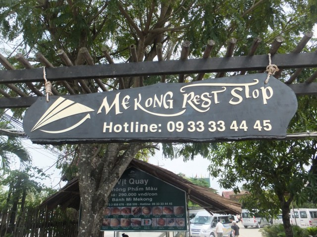 The Mekong Rest Stop!