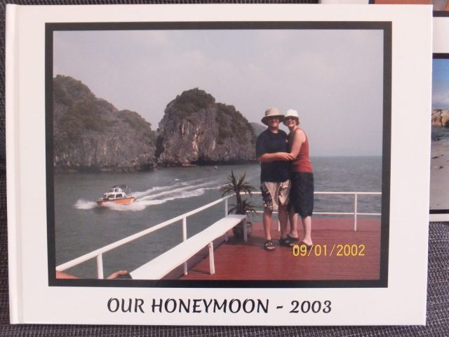 I even did our honeymoon some 12 yrs afterwards when I found the photos during our move home from Sydney!