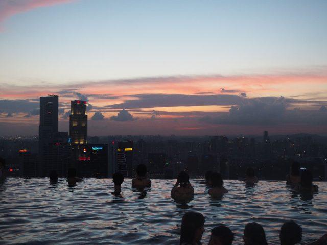 Marina Bay Sands Sunset