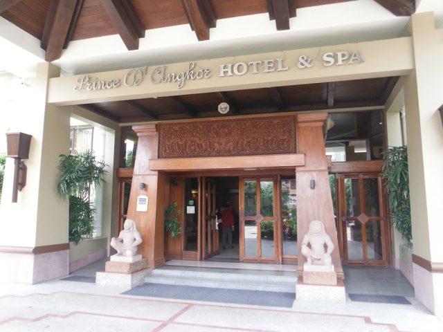 Prince d'Angkor hotel & Spa, Siem Reap, Cambodia