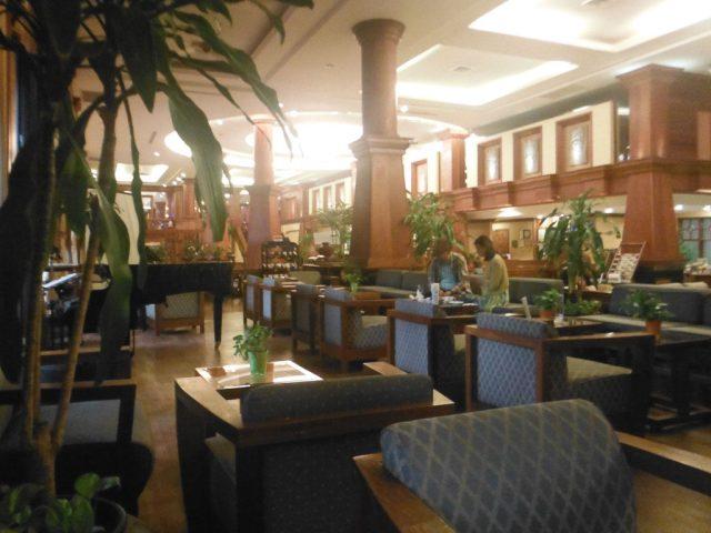 The hotel bar, Prince d'Angkor Hotel & Spa