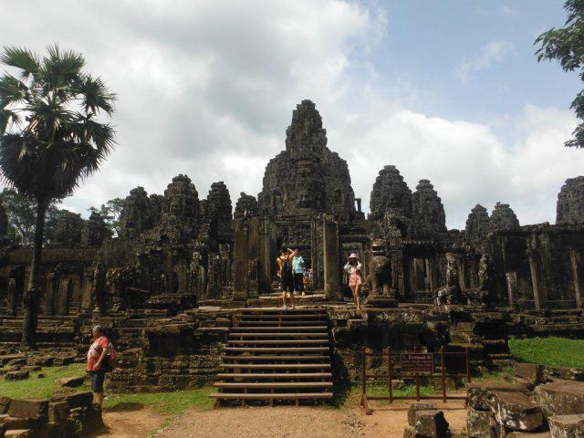 Bayon at the beautiful Angkor Thom