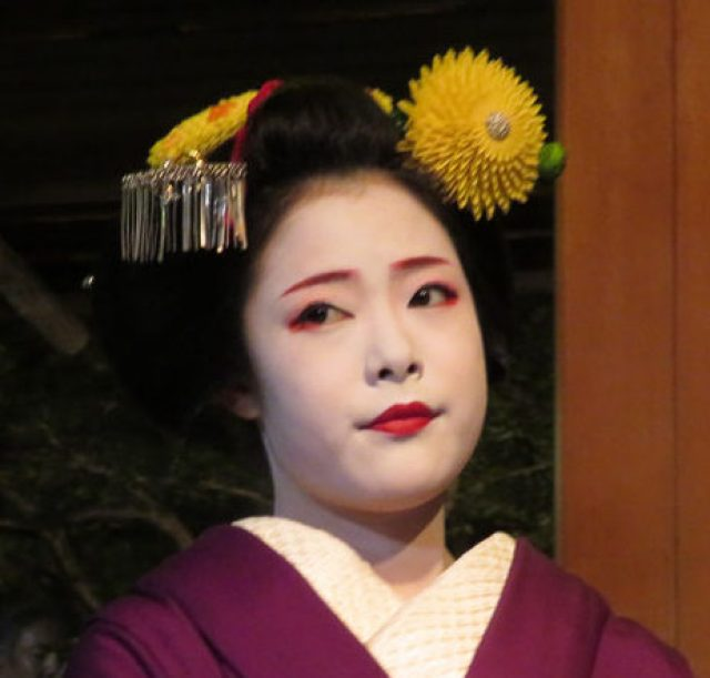 where to see geisha in kyoto