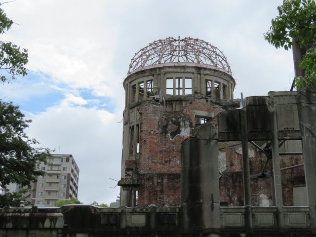 A-Bomb Dome, still exactly as it was immediately after the bomb was dropped.