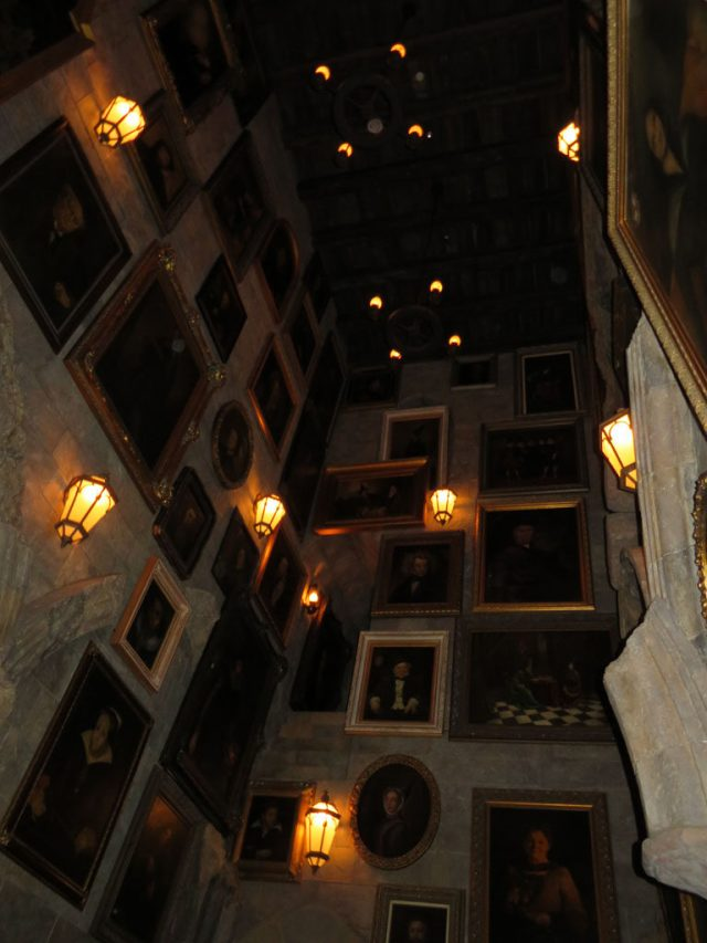 Inside Hogwarts Castle