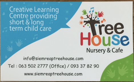 Tree House Child Care Centre and Babysitting Service - Siem Reap
