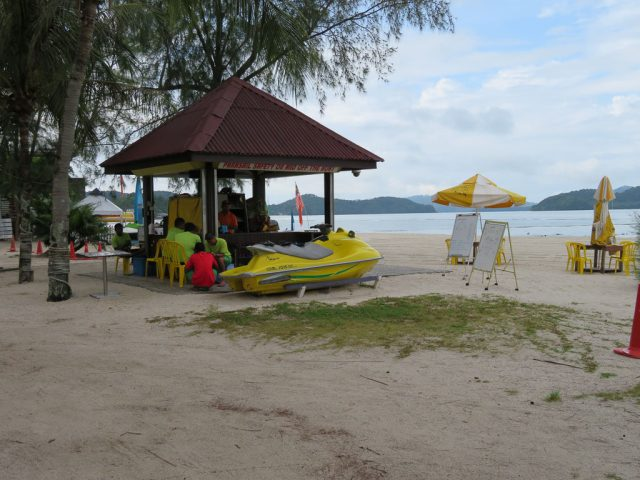 Beautiful beach with the option to do water sport, including jet skiing, kayaking or parasailing.