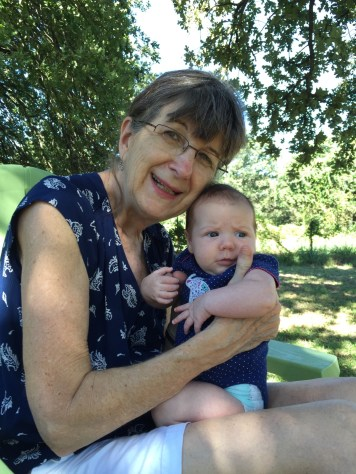 Grandmother with Lena
