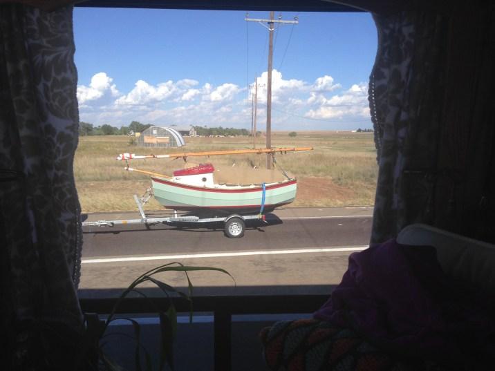 Sailboat we saw