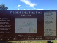 Trail System Sign