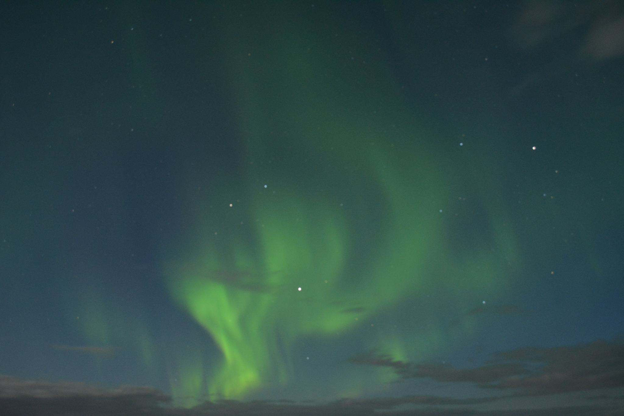 Iceland Honeymoon Northern Lights