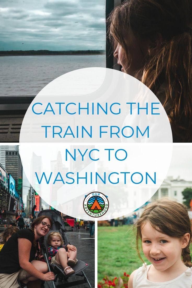 We caught the train from New York City to Washington DC with two kids. This is what we thought.