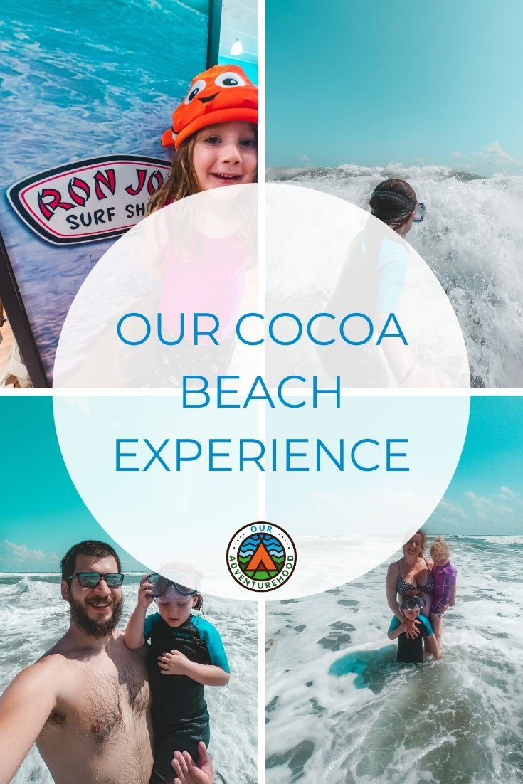 Not every trip in Florida needs to be all about Disney.  Cocoa Beach is a great day trip from Kissimmee and there is so much fun to be had at the coast.