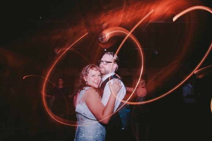 Chattanooga couple at their wedding photographed by Jaime Smialek