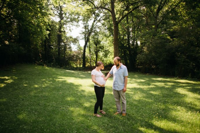 Adorable couple and their baby bump. I love shooting family photos here in Chattanooga Tennessee. Maternity pictures are important.