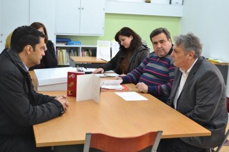 Στο 1ο Ειδικό Δημοτικό Σχολείο σήμερα ο Δήμαρχος Αγρινίου (1)