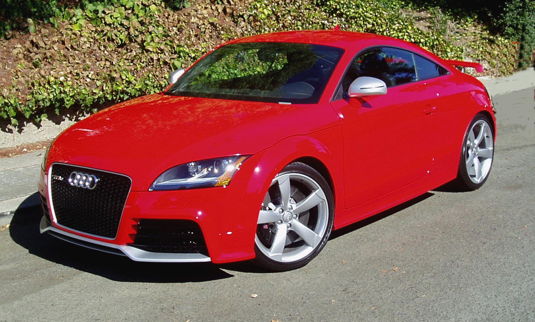 test drive 2012 audi tt rs coupe our auto expert. Black Bedroom Furniture Sets. Home Design Ideas
