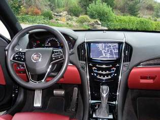 2013 Cadillac ATS - dash