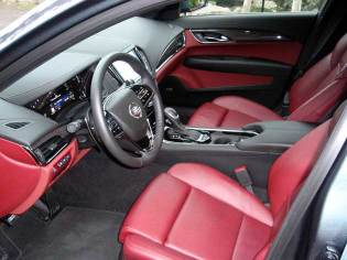 2013 Cadillac ATS - interior
